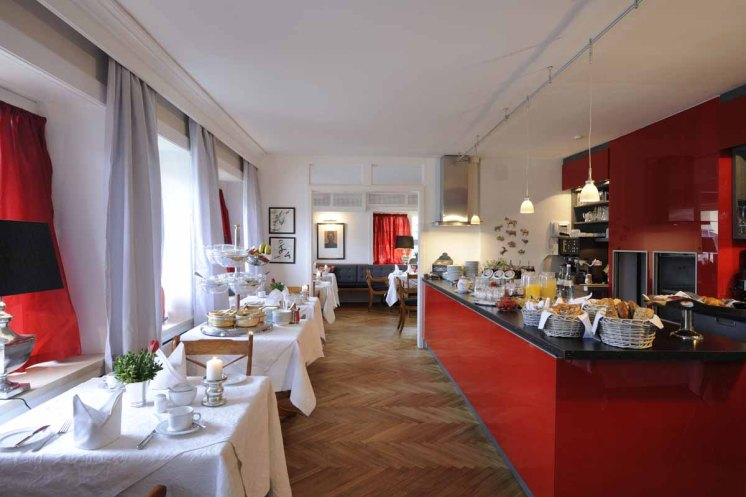 Tegernsee - Relais Chalet Wilhelmy - Schlemmerei Restaurant Raum