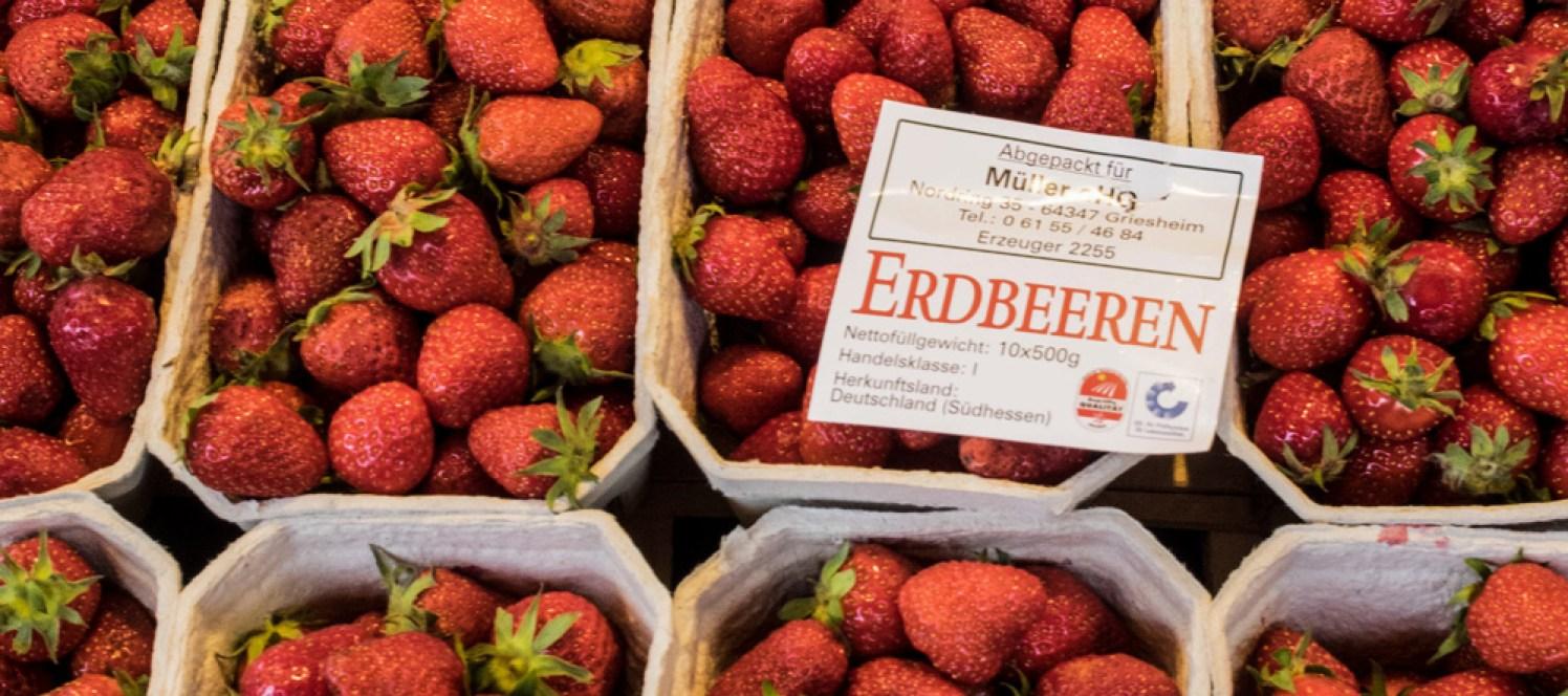 Erdbeeren Markt Hamburg
