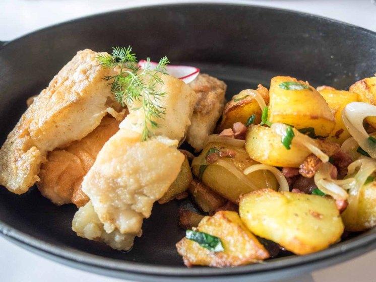 Fischessen in Carls Brasserie