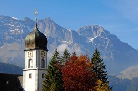 Kloster, Kirchenturm, Uhr Herbst;.Monastery, Church Tower, Clock Fall;
