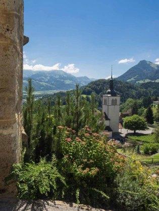 Kirche in Gruyères