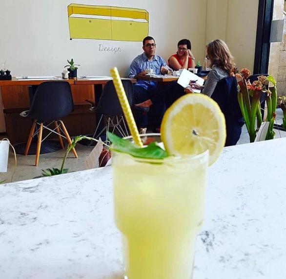 Restaurant Ginette: Zitronenlimonade