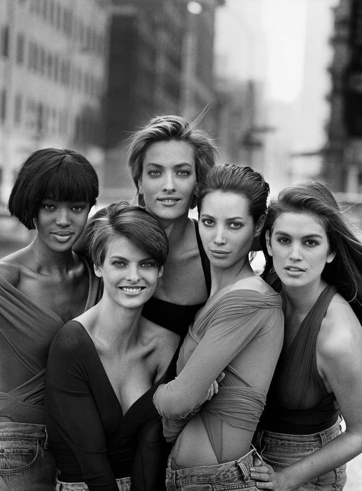 Pure Schönheit: Lindberghs fünf Models