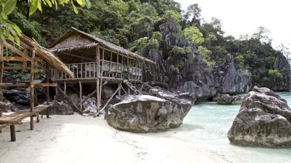 Unser Beach-Restaurant ...
