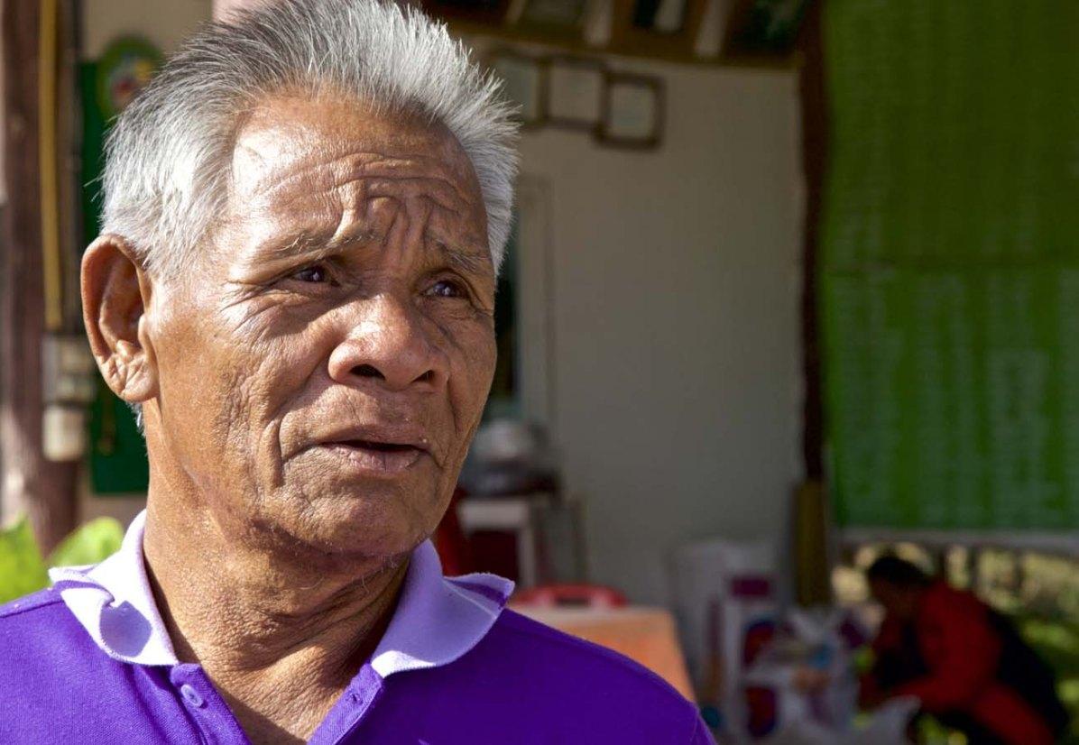 Pratoeng (67), Vizepräsident des King Cobra Club