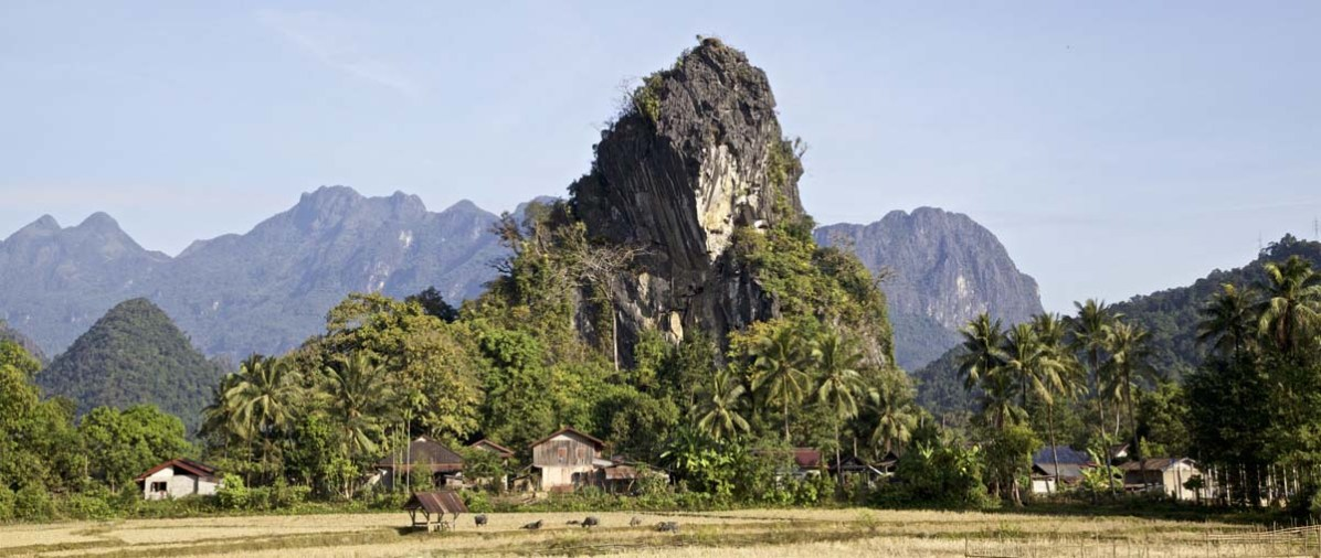 Laos Vang Vieng nach Luang Prabang 01
