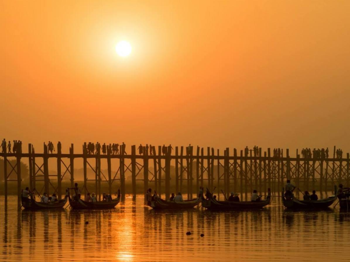 Myanmar Bruecke