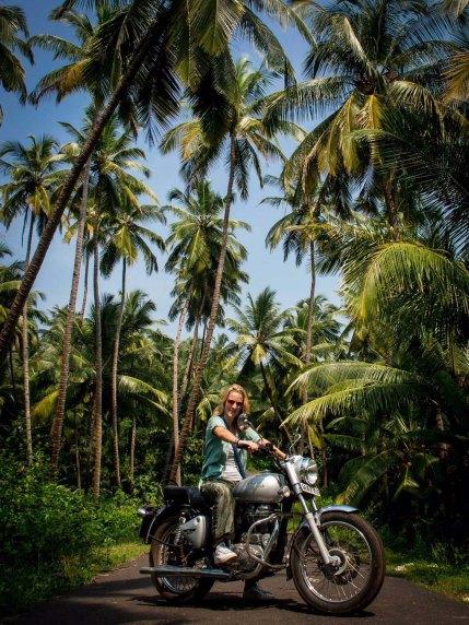 Olivia Gadient Reisen Fotografie Motorrad