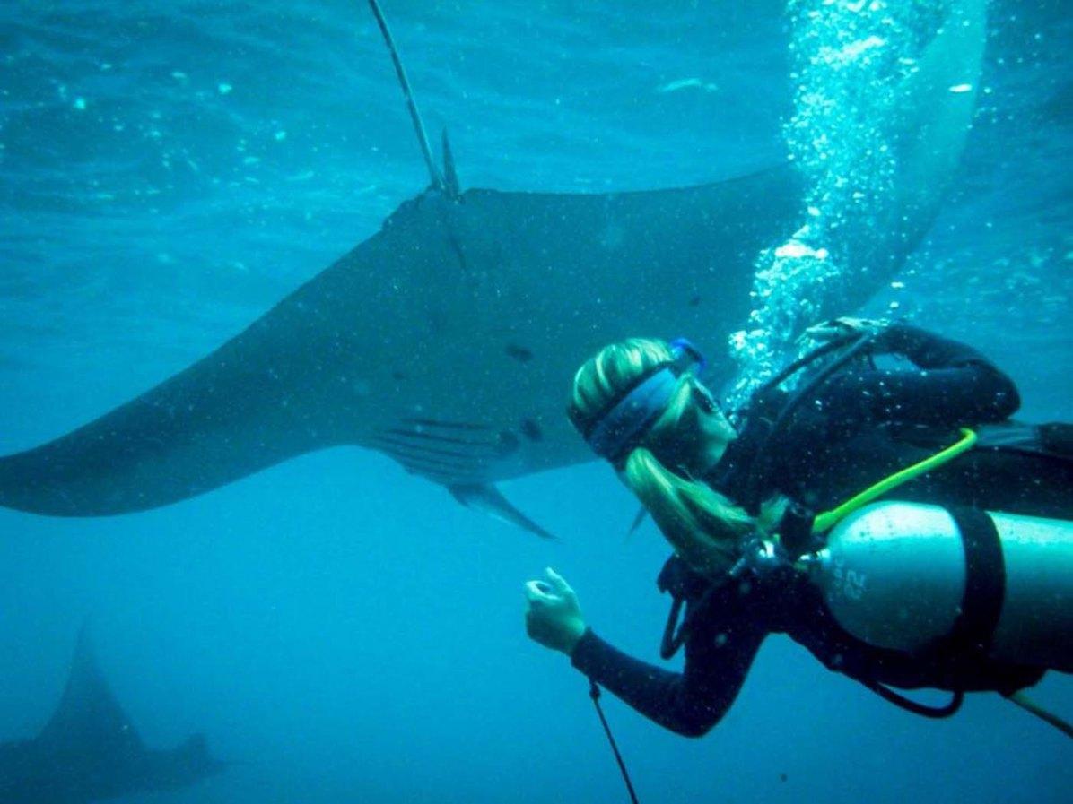 Olivia Gadient Reisen Fotografie Unterwasser Tauchen