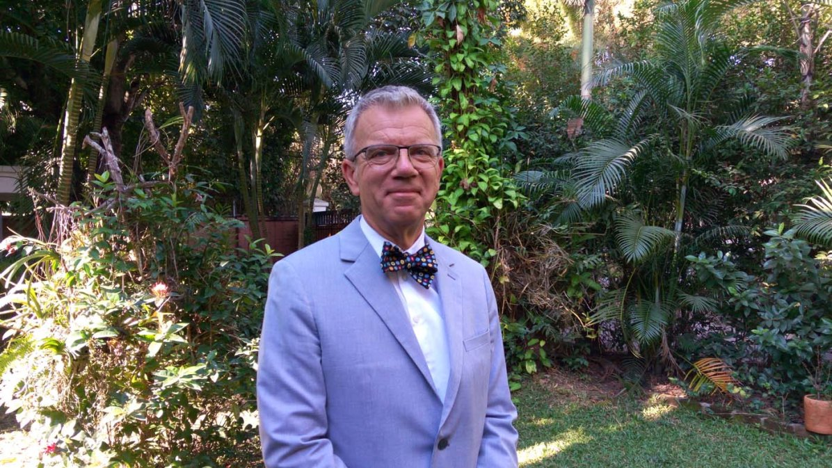 Der Schweizer Botschafter in Myanmar: Paul Seger