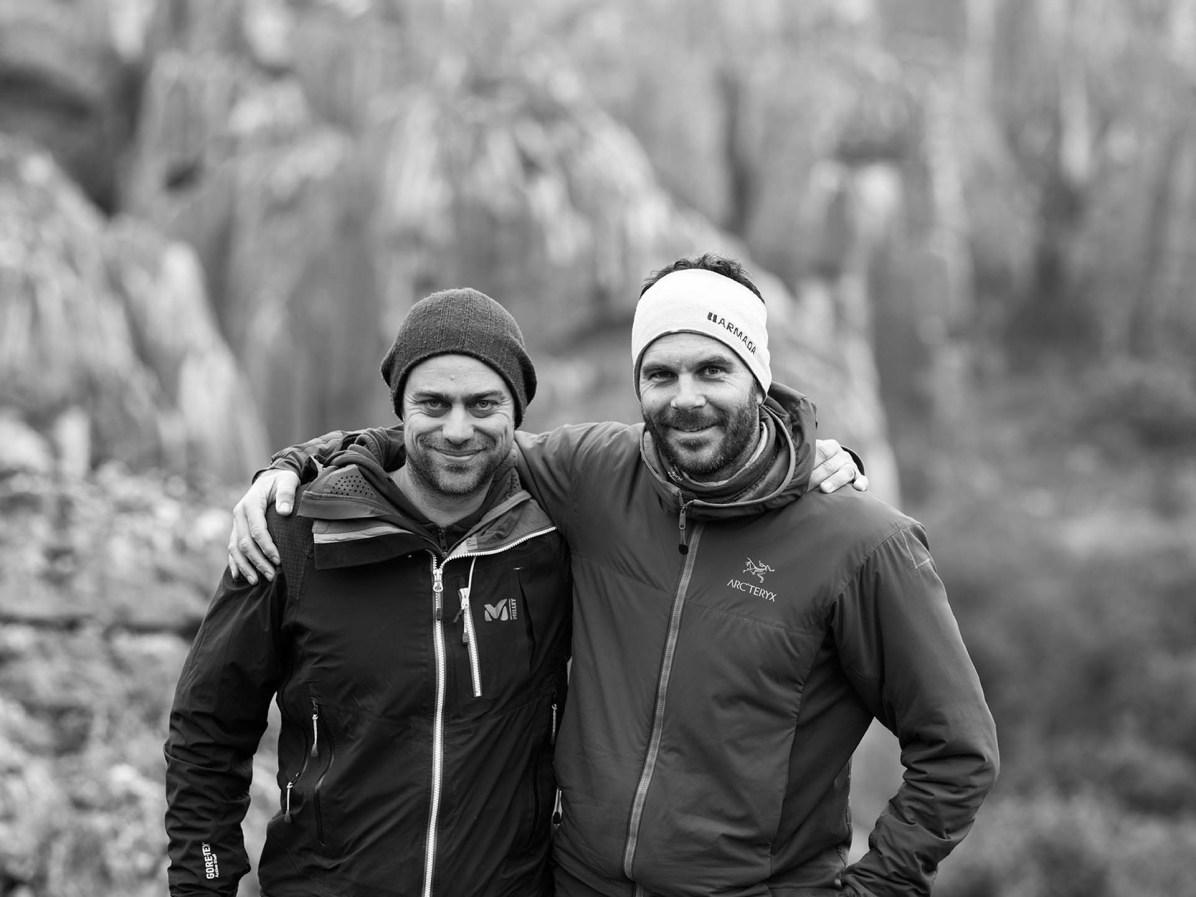 Autor Martin Hoch (l.) und Fotograf Nico Schaerer unterwegs in Yunnan - © Nico Schaerer, nuvu.ch