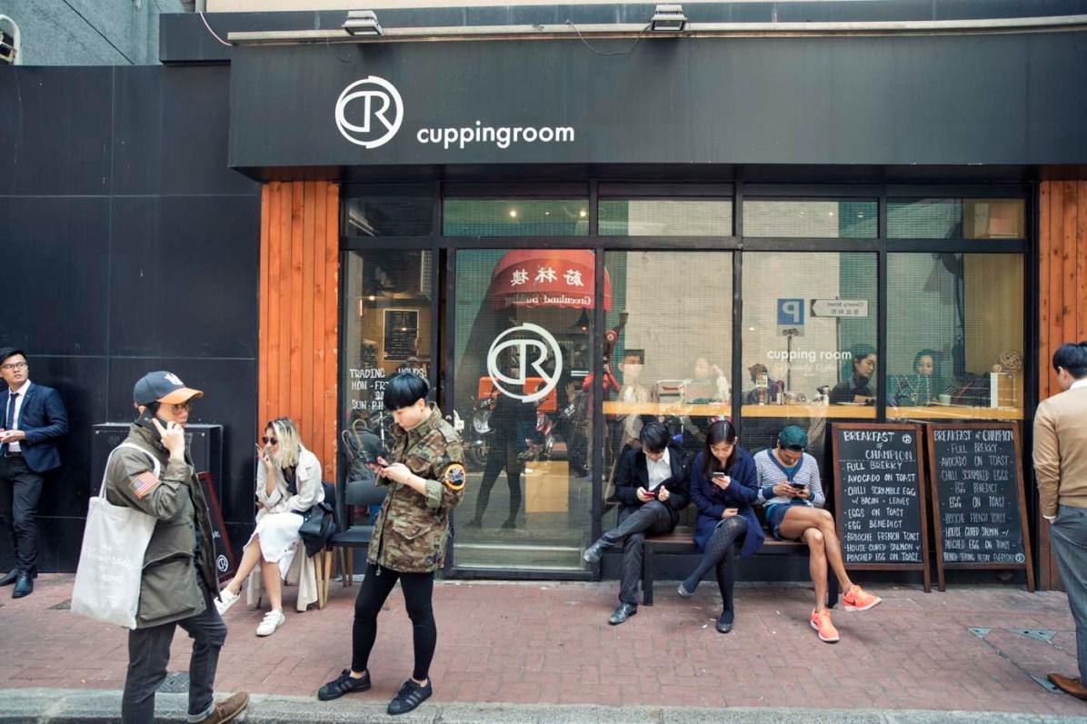 Den besten Kaffee Hongkongs gibts im Cuppingroom