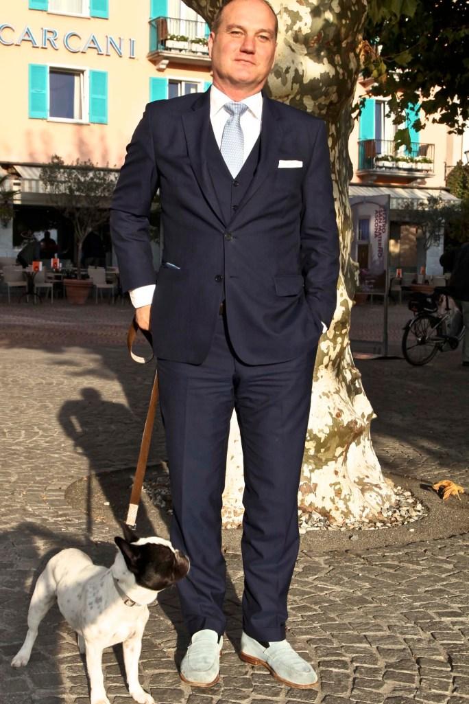 Unterwegs noch den Hoteldirektor Andreas Gartman mit getroffen ...