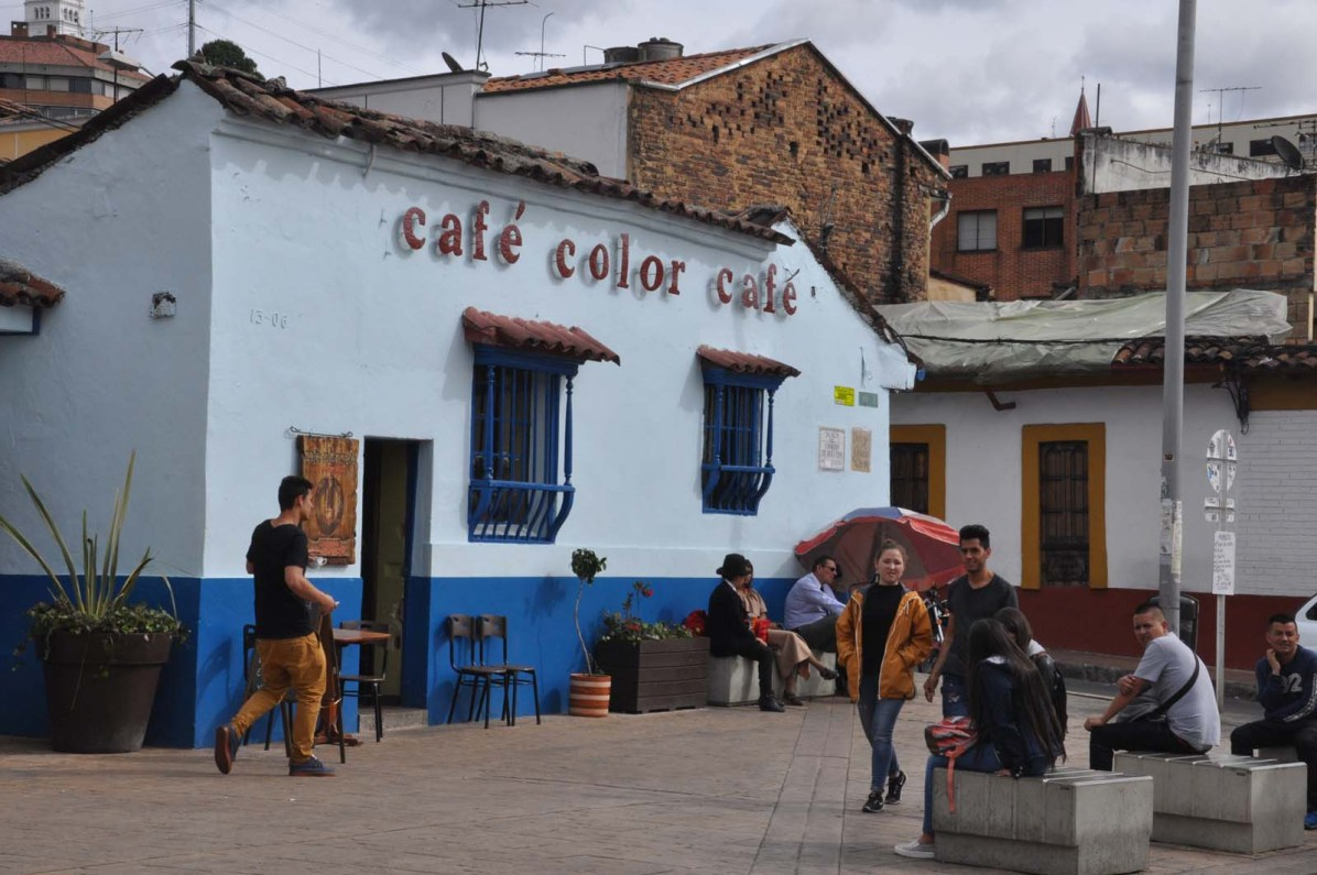 Bogota, die Hauptstadt Kolumbiens