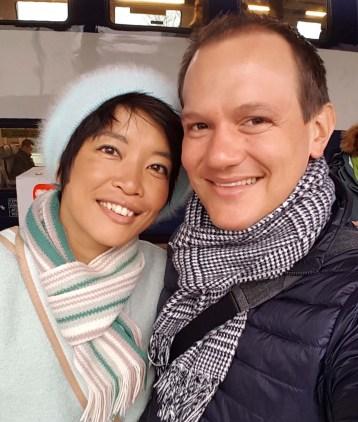 Mamiko und Dimitro von newlyswissed.ch