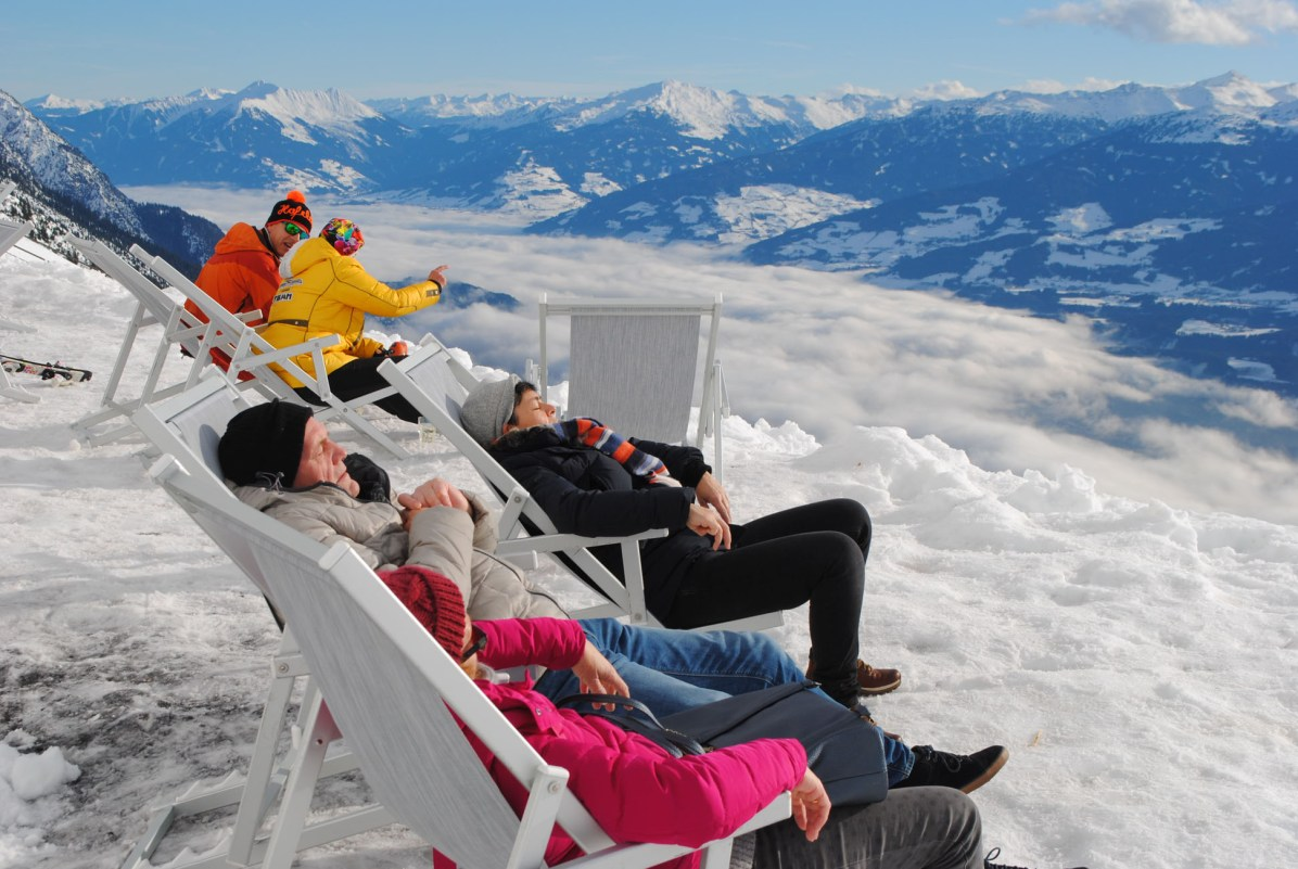 Cloud 9 oberhalb Innsbruck