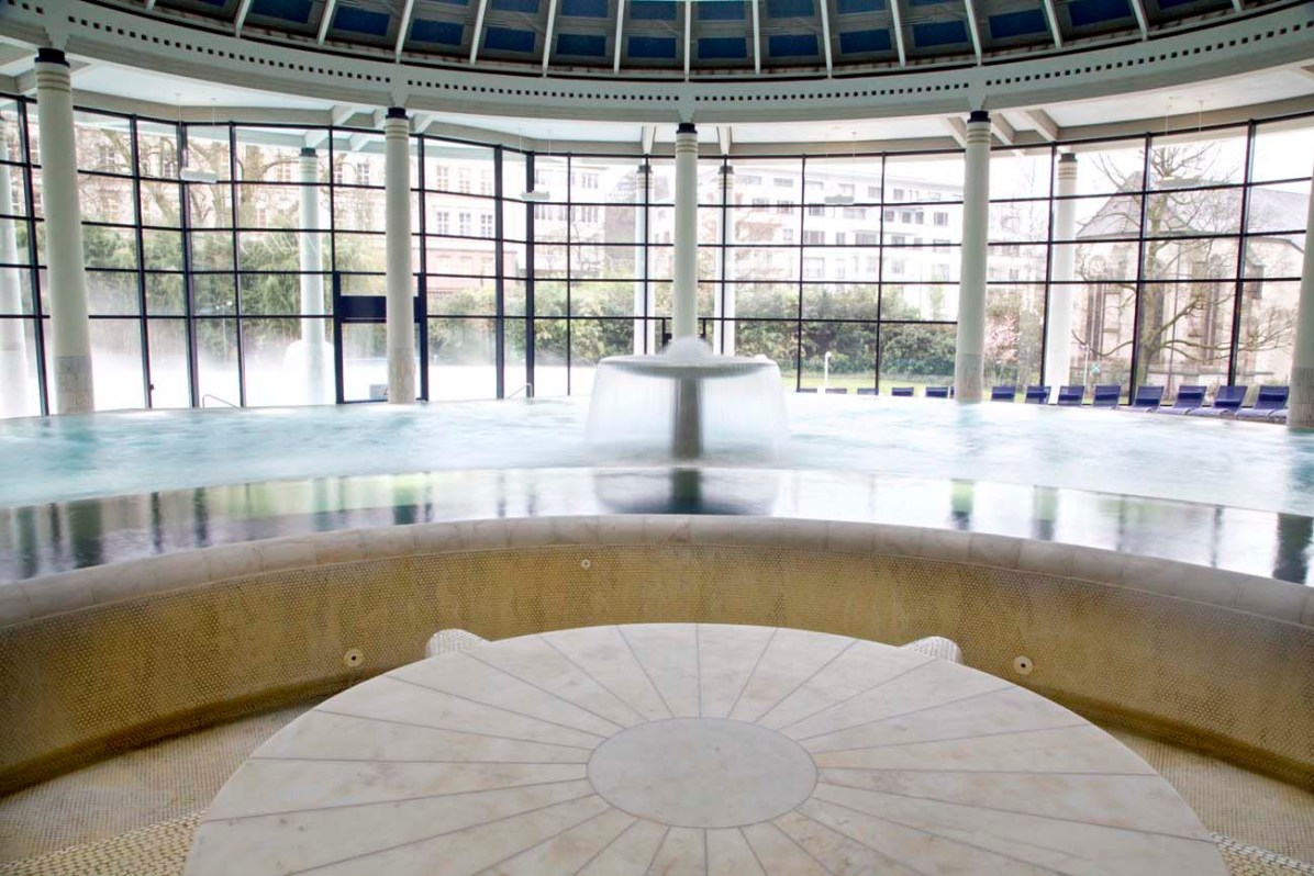 Der Innenbereich der Caracalla Therme