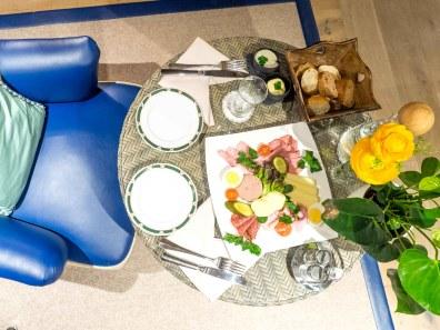 Heute einmal gemütlich - Dinner auf dem Zimmer