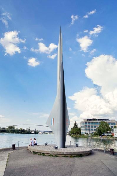 Los geht's am Dreiländereck in Basel