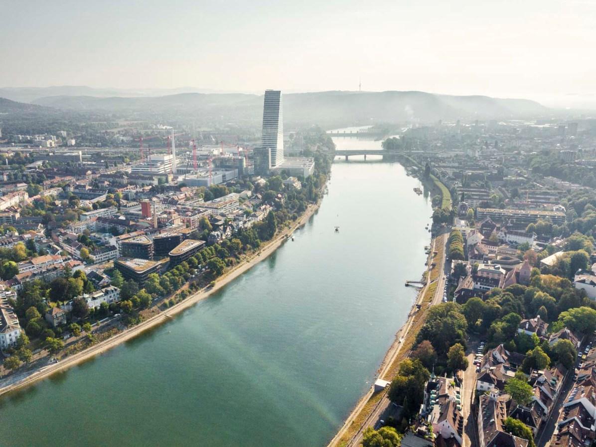 Basel Schifffahrt Rhystaern Schleusenfahrt 36
