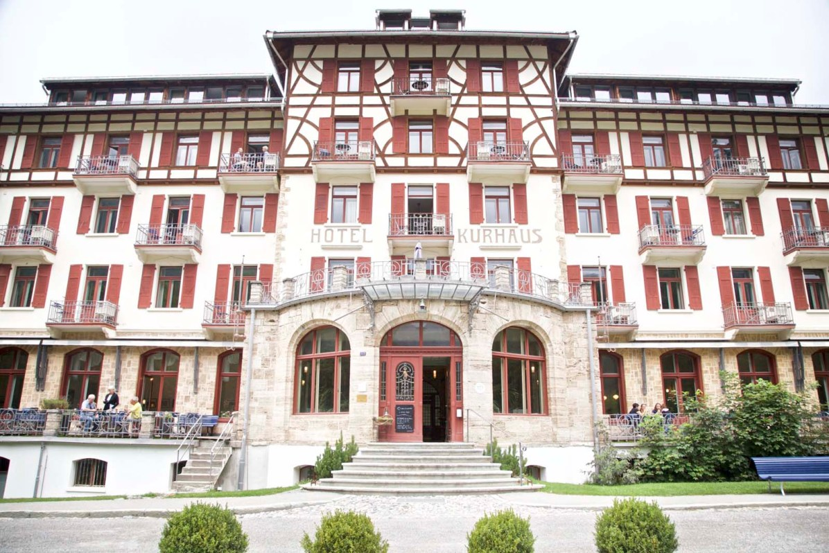 Das Hotel Kurhaus Bergün