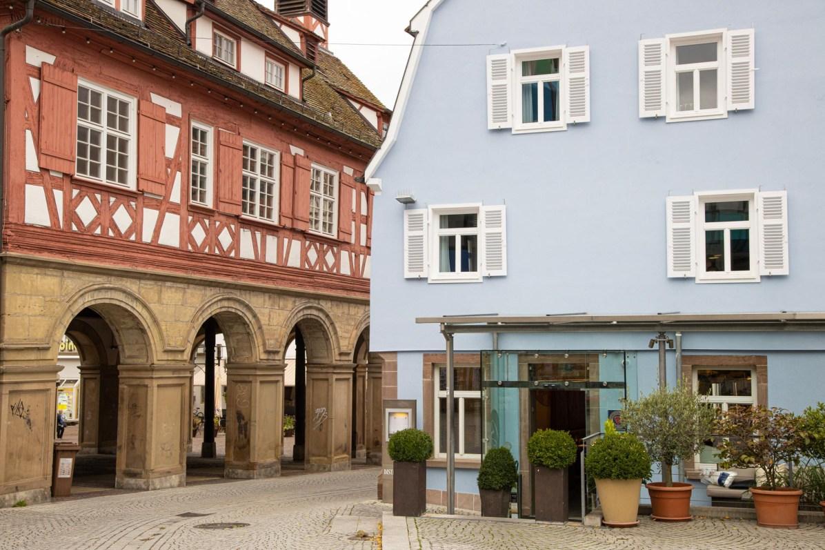 Das Bachofer befindet sich mitten in Waiblingens Altstadt.
