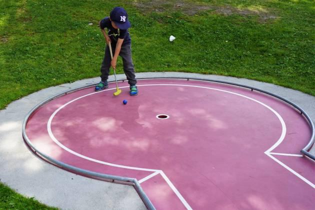 Mini-Golf © Eva Hirschi