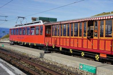 Die Zahnradbahn Vitznau–Rigi Kulm wurde im Jahr 1871 eröffnet. © Eva Hirschi