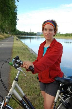 Anick-Marie vélo Zélande