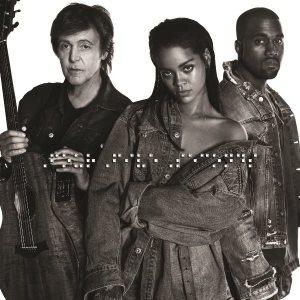 Rihanna FourFiveSeconds Kanye West e Paul  McCartney