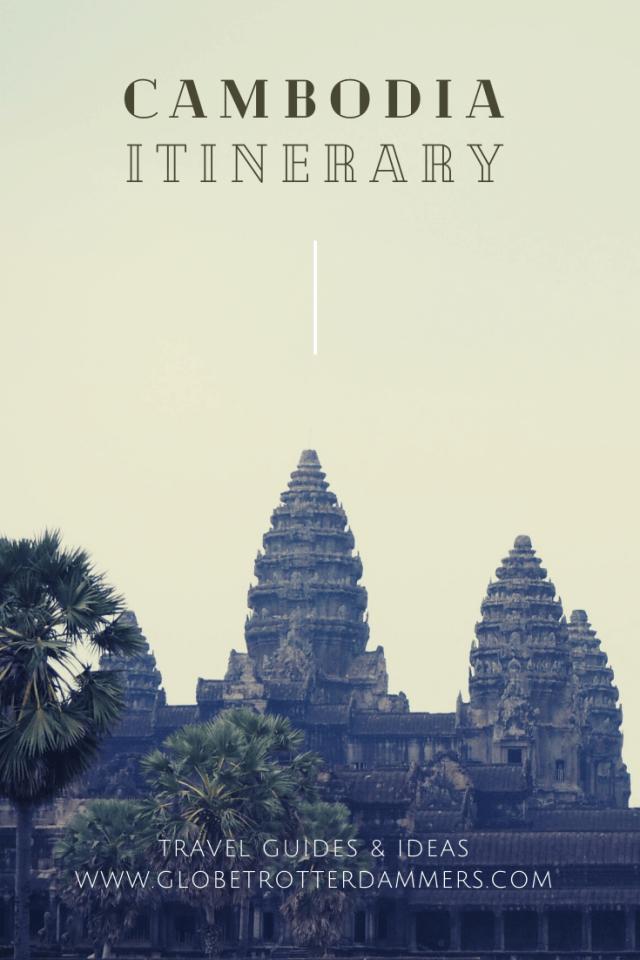 Travel Cambodia itinerary