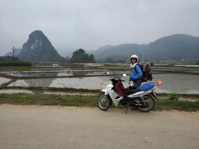 The way to Ha Giang
