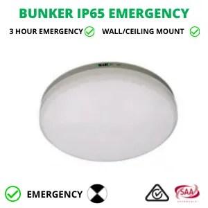 BUNKER IP65 EMERGENCY