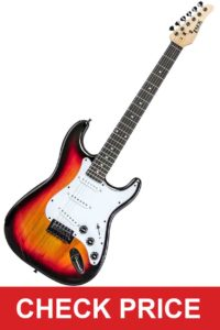LyxPro Full Size Electric Guitar