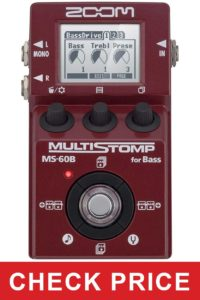 Zoom MS60B Multi-Stomp Bass Pedal