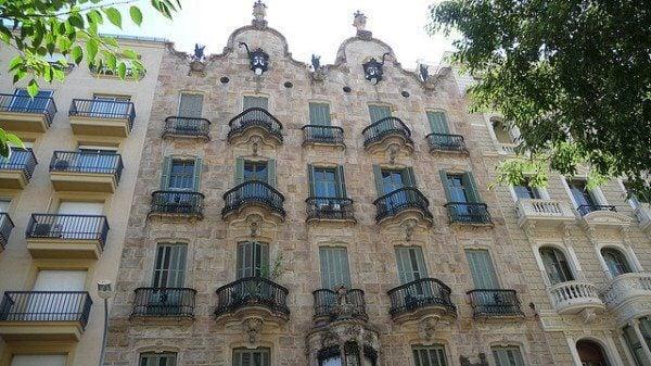 Gaudi Casa Calvet