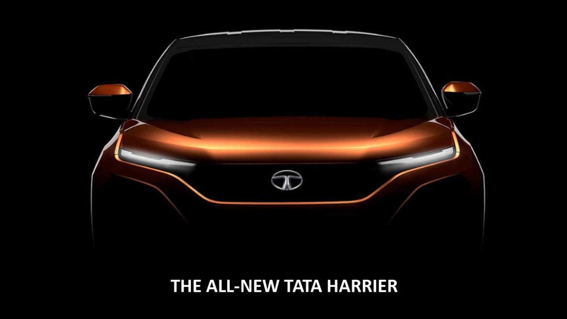 THE ALL-NEW TATA HARRIER