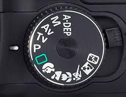 Canon mode selector