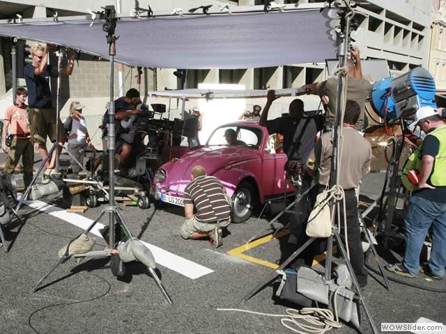 Pimped Pink Volkswagen