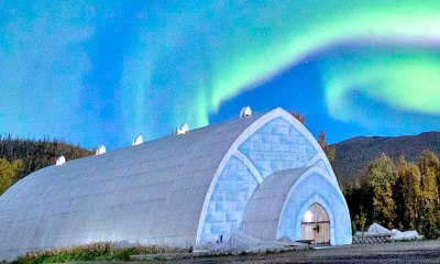 A Cold Break at the Aurora Ice Museum Hotel in Alaska