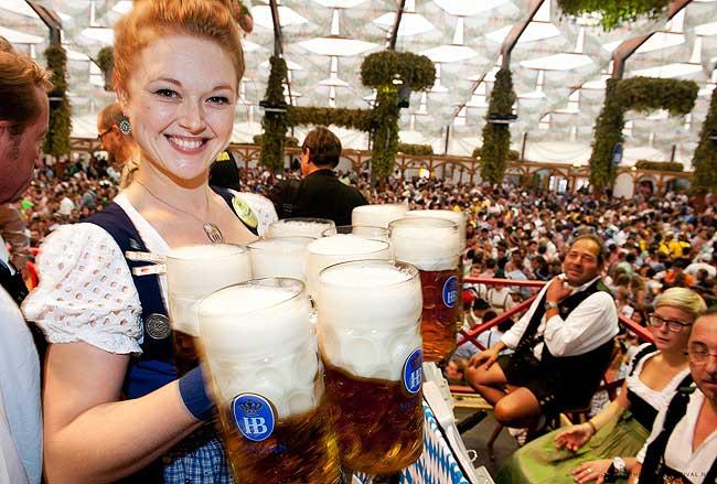 The Oktoberfest 2016 Beer Tents