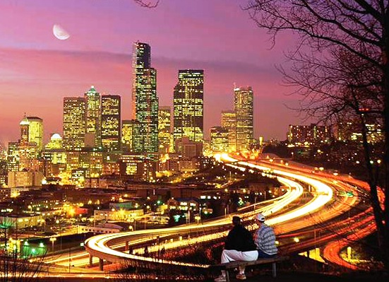 Seattle-City-Night