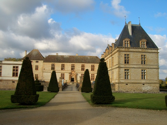 Chateau in Burgundy, France