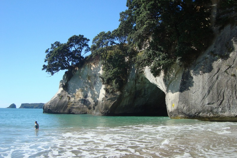 Cathedral Cove, New Zealand - the most beautiful places in the world