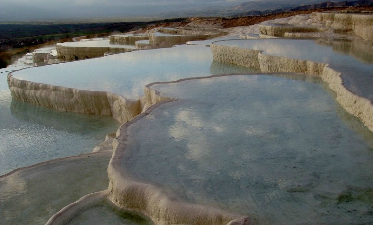 The most beautiful places in the world - Pamukkale Turkey