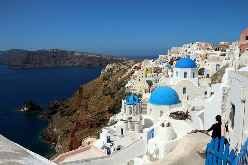 the most beautiful places in the world - Santorini in Greece