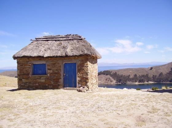 Titicaca Lake house