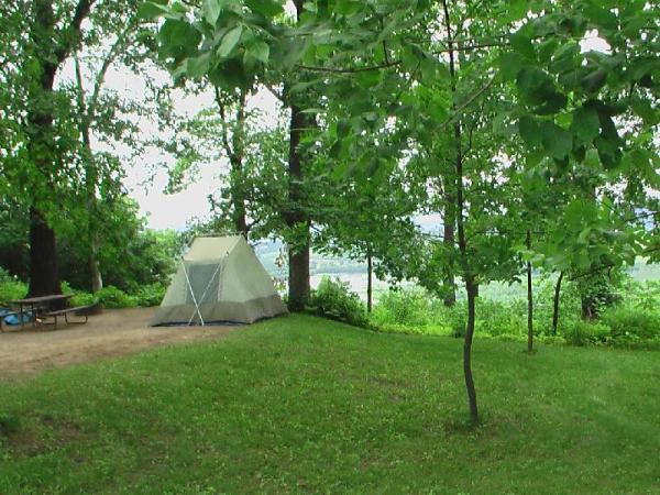 Wyalusing Hardwood Forest, Mississippi