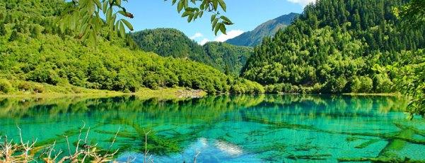 Yellow Dragon Scenic Area, China