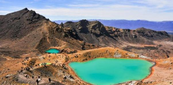 Tongariro Alpine Crossing Walk